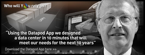 Design a new data center download the Datapod App